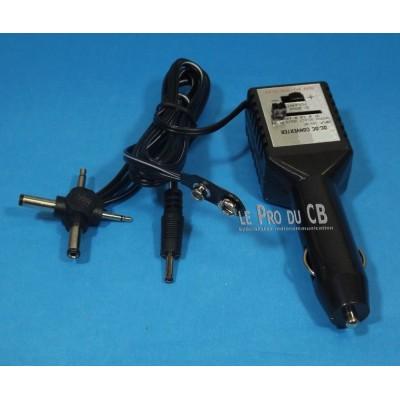 360236, convertisseur de courant DC, avec adaptateurs multiples