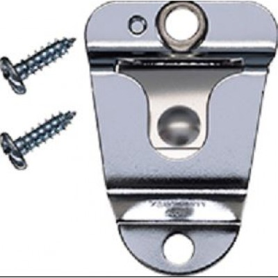 HLN9073, accroche micro avec barrure à ressort, trois vis, robuste - HLN9073, microphone hook with spring lock, three screws, heavy duty