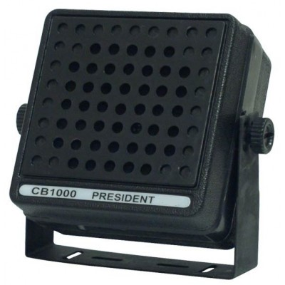 CB Speaker Externe - 4'', 25 Watts, Heavy-Duty, Braquette Métal Incluse
