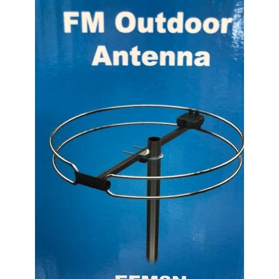 042158, antenne FM radio de base extérieure, omnidirectionnelle - 042158, outdoor FM radio antenna, omnidirectional