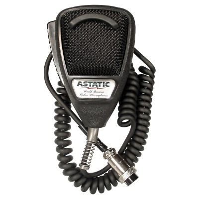 Astatic  4-pin Mobile Microphone, Noise-Cancelling, High-Quality Wire