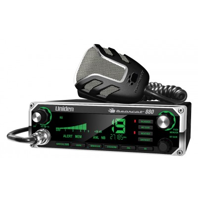 Bearcat 880, radio CB Uniden 40 canaux AM, de luxe avec écran numérique en couleur - Bearcat 880, Uniden CB radio 40 channels AM, luxury model with digital color screen