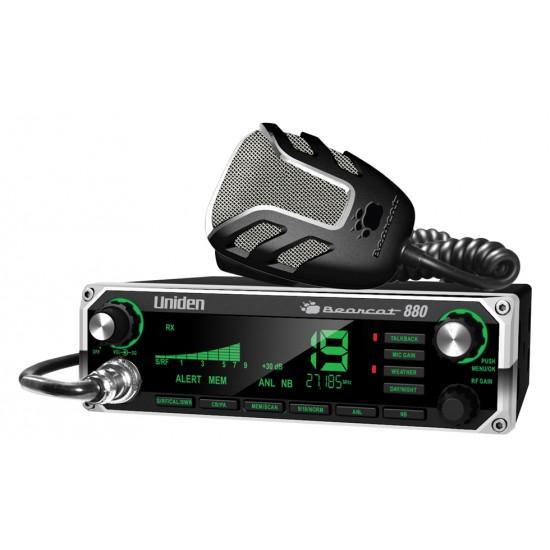 Uniden Bearcat880 Radio CB - NOAA - Compatible avec Micro Sans Fil