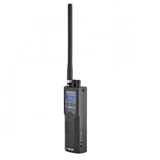 CB Cobra 40 canaux portatif, 10 canaux WX /  Cobra Handheld CB Radio with NOAA & Soundtracker