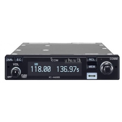 ICA220 Icom Avionic Radio VHF fixe