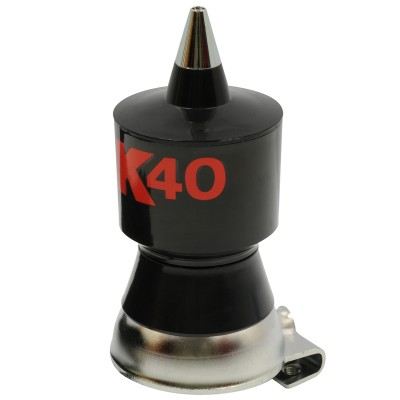K40 Base Load Antenna - Cable Coaxial RG58 18' - 58'' Whip - Universal Mount