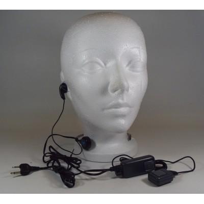 22430 - Microphone avec écouteur et PTT pour CB portatif Midland 75-822 - Microphone with PTT and earphone for portable CB Midland 75-822