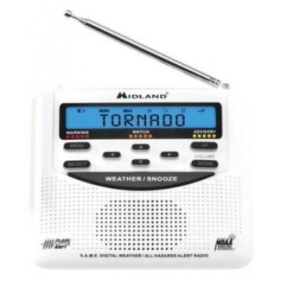 WR120C - Radio météo Midland avec alerte météo - Midland weather radio with weather alert
