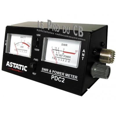 PDC2, testeur SWR et Power, 2 cadrans