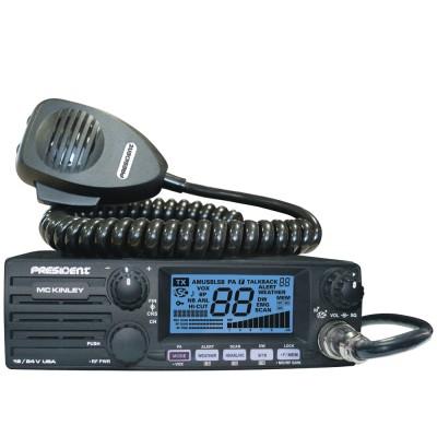 President McKinley Radio CB - 12/24V - AM / SSB - PA Capability