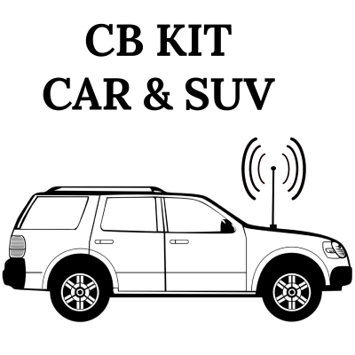 Kit radio CB pour automobile et VUS - CB radio kit for cars and SUVs