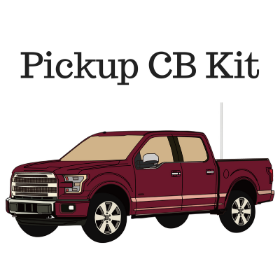 Pick-up CB Radio Kit