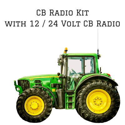 24 Volt Vehicles - Heavy Vehicles CB Radio Kit