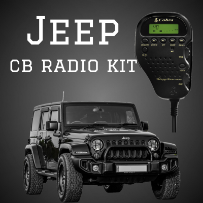 Jeep CB Kit - 4X4 Off-road Vehicle CB Package