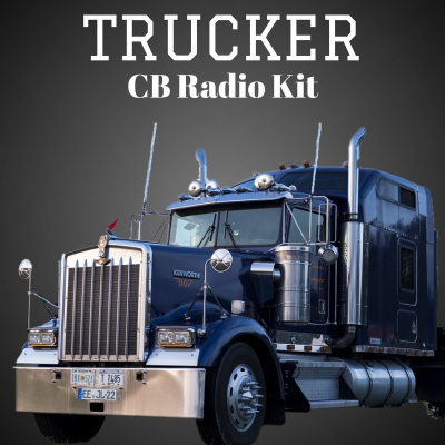 Kit radio CB pour camions - CB radio kit for trucks