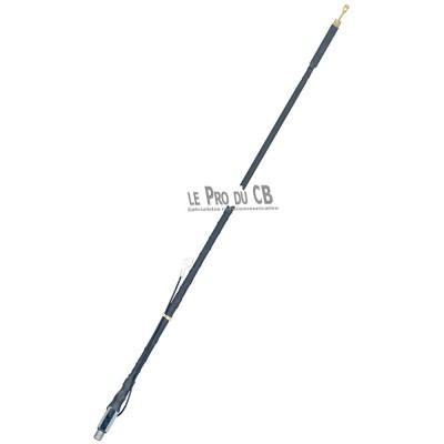 SLF4 - Wilson flex adjustable slim 4 feet black CB antenna