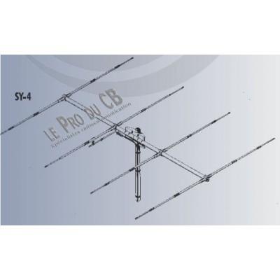 SY4, antenne CB beam Yagi Sirio