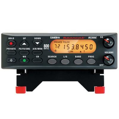 BC355N, balayeur d'ondes mobile Bearcat d'Uniden, 300 canaux, 25 à 956 Mhz - BC355N, Uniden Bearcat mobile scanner, 300 channels, 25 to 956 Mhz