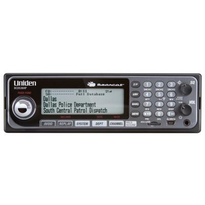 BCD536HP, balayeur d'ondes mobile et base Bearcat d'Uniden, numérique, 25 à 1300 Mhz - apco25, P25, BCD536HP, Uniden Bearcat mobile and base scanner, digital, 25 to 1300 Mhz