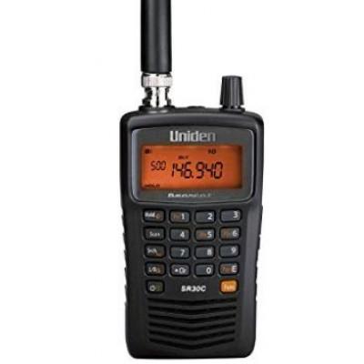 SR30C, balayeur d'ondes portatif Bearcat d'Uniden, 500 canaux, 25 à 512 Mhz - SR30C, Uniden Bearcat portable scanner, 500 channels, 25 to 512 Mhz, police, pompier, fire department, voirie, travaux publique