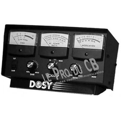 TC3001P, testeur 3 cadrans Dosy, SWR, Power, Wattage - TC3001P, Dosy 3 dials tester, SWR, Power, Wattage
