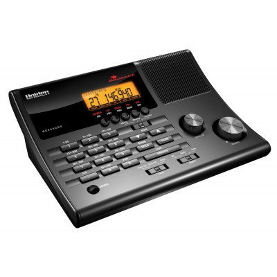 Uniden Mobile or Base Scanner - 500 Channels, Alarm Clock, FM Radio