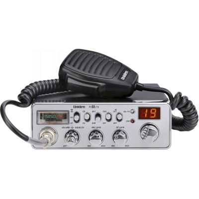 Uniden PC68LTX Radio CB - NB/ANL - RF/Mic Gain - S/RF