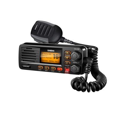 Uniden UM380 / UM380BK Radio VHF Marin Mobile, Class D VHF Radio