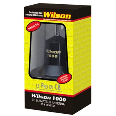 Antenne Wilson 1000 Aimantée, fouet 62po / Wilson 1000 Magnetic Antenna 62'in whip