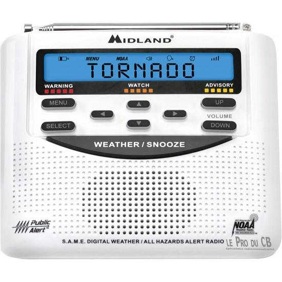 Radio météo Midland avec alerte